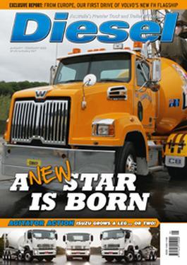 Diesel magazine cover