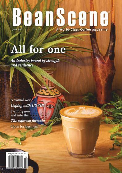 BeanScene magazine cover