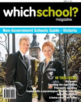 WhichSchool? VIC magazine cover