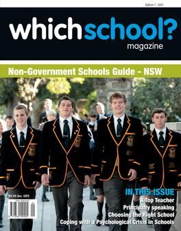 WhichSchool? NSW magazine subscription
