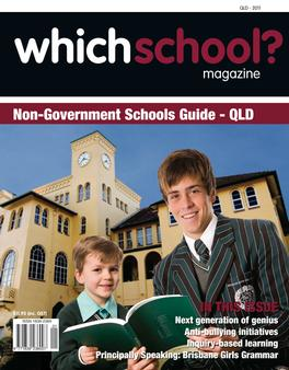 WhichSchool? QLD magazine cover