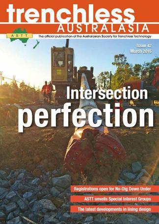 Trenchless Australasia magazine cover