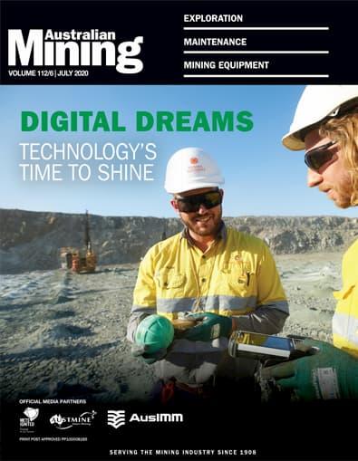 Australian Mining magazine cover