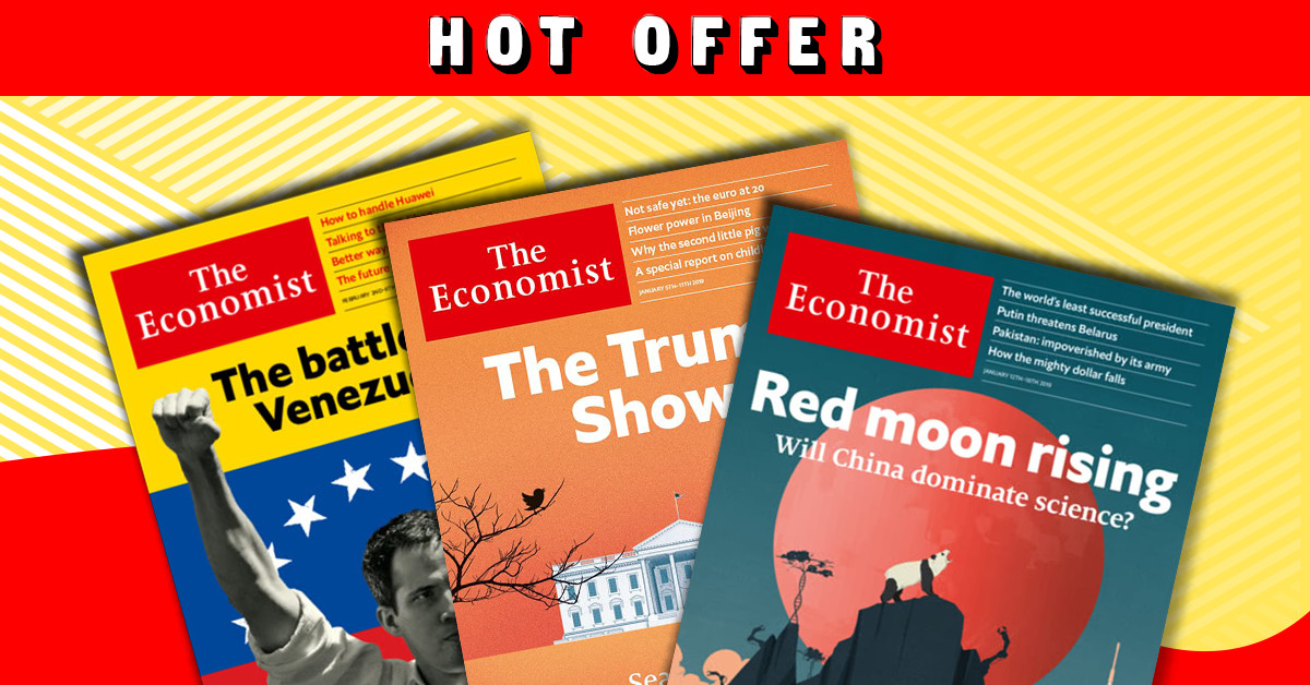 The Economist - Print Only Magazine Subscription