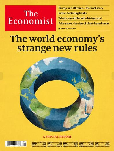 The Economist - Print only magazine cover