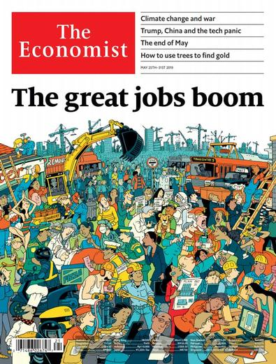 The Economist - Print only magazine cover