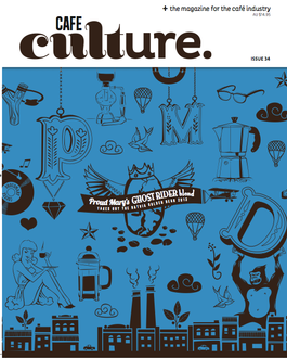 Cafe Culture magazine cover