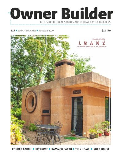 The Owner Builder magazine cover