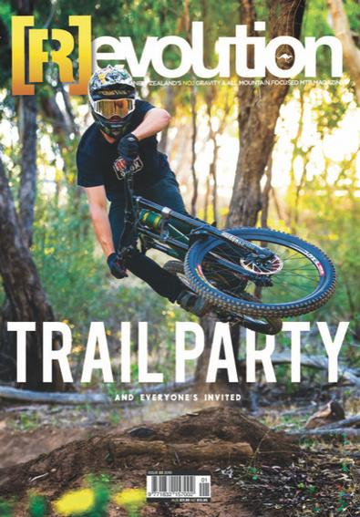 Revolution Mountain Bike magazine cover
