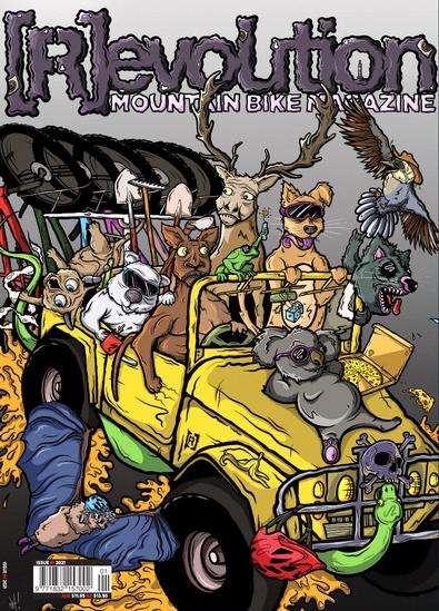 Revolution Mountain Bike magazine cover