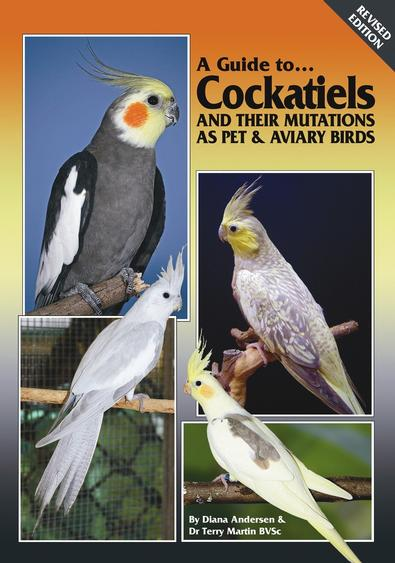 A Guide to Cockatiels & their Mutations HARD COVER cover