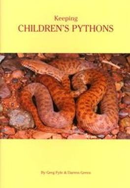 Keeping Children's Pythons cover