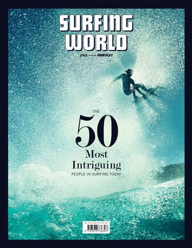 Surfing World magazine cover