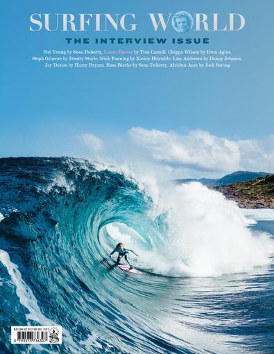 Surfing World magazine cover