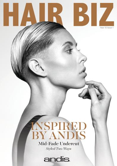Hair Biz magazine cover