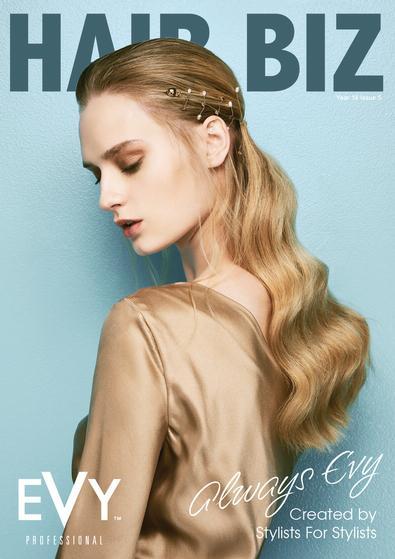 Hair Biz magazine cover