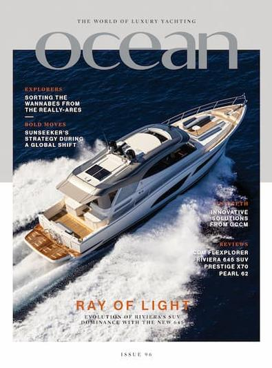 Ocean magazine cover