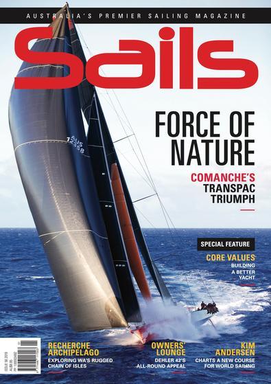 Sails magazine cover