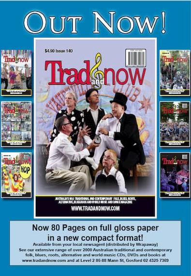 Trad&Now magazine cover