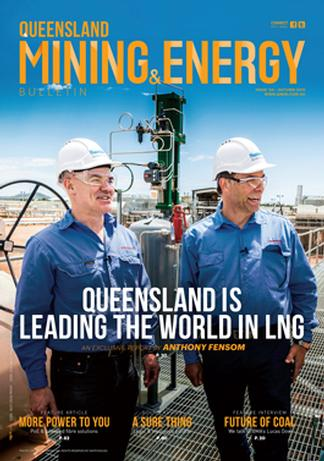 QLD Mining & Energy Bulletin magazine cover