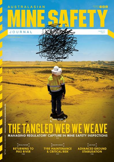 Australasian Mine Safety Journal magazine cover
