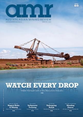 Australasian Mining Review magazine cover