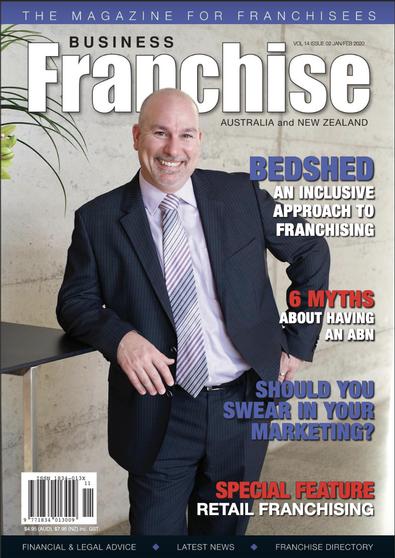 Business Franchise Magazine Jan/Feb 2020 cover