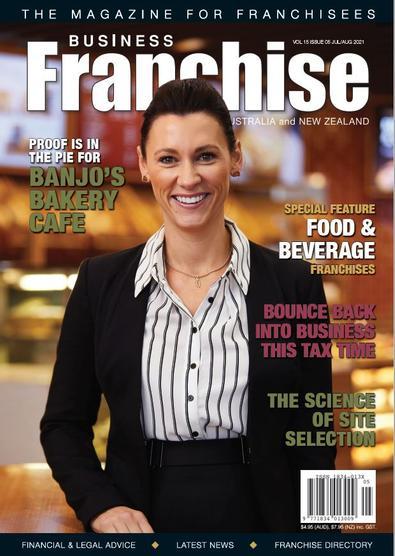 Business Franchise Magazine Jul/Aug 2021 cover