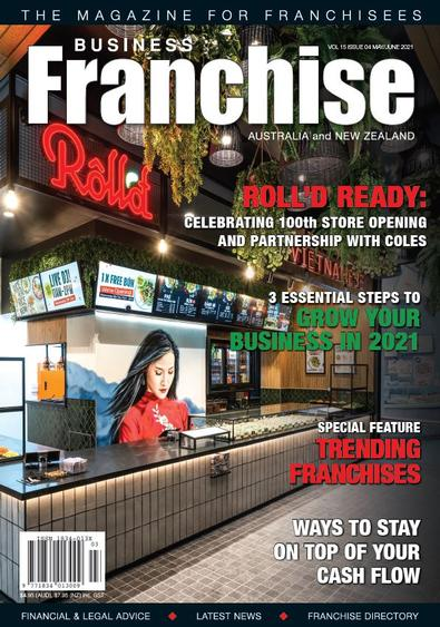 Business Franchise Magazine May/Jun 2021 cover