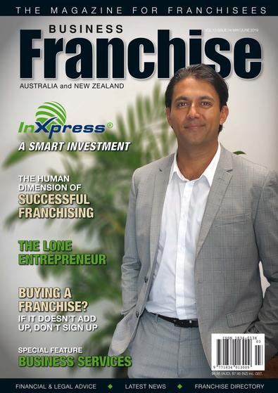 Business Franchise Magazine May/June 2019 cover