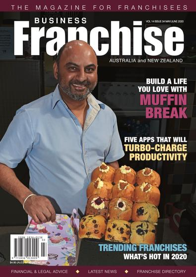 Business Franchise Magazine May/June 2020 cover