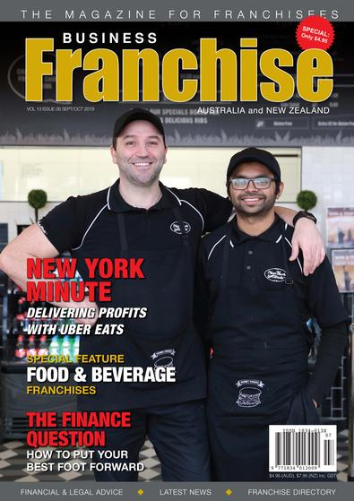 Business Franchise Magazine Sep/Oct 2019 cover