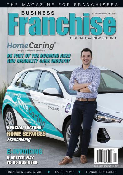 Business Franchise Magazine Sept/Oct 2020 cover