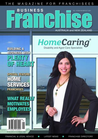 Business Franchise Magazine Sept/Oct 2021 cover