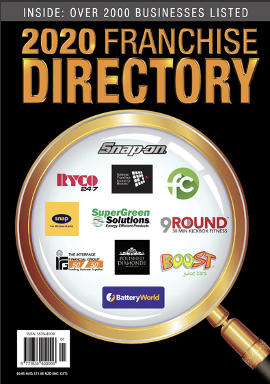 Australian Business Franchise Directory 2020 cover