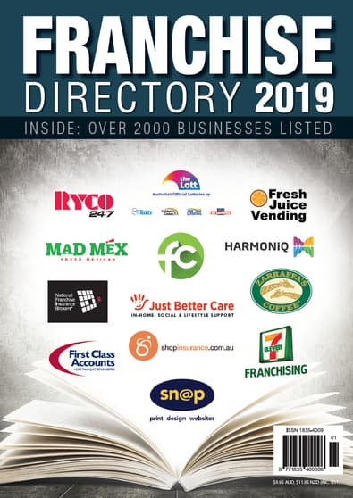 Australian Business Franchise Directory 2019 cover