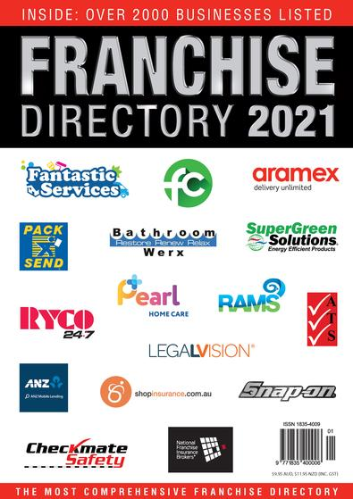Australian Business Franchise Directory 2021 cover