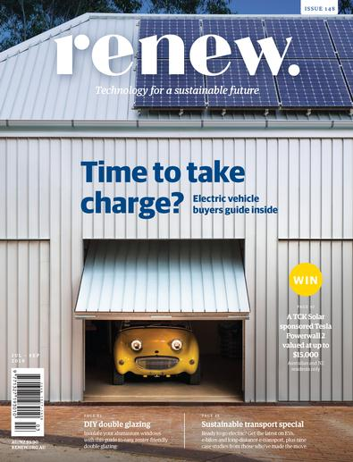 Renew: Technology for a Sustainable Future magazine cover