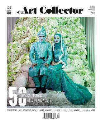 Art Collector magazine subscription
