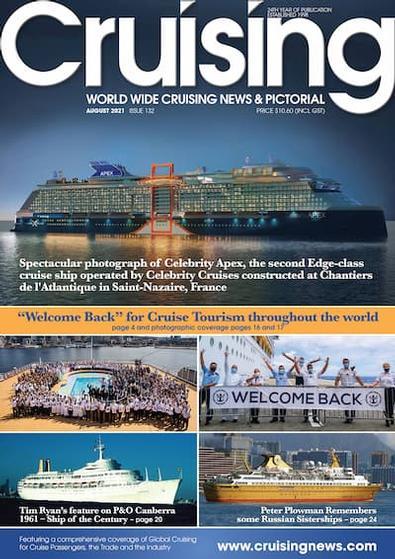Cruising News magazine cover
