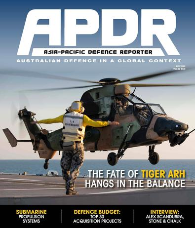 Asia-Pacific Defence Reporter magazine cover