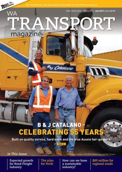 WA Transport Magazine cover
