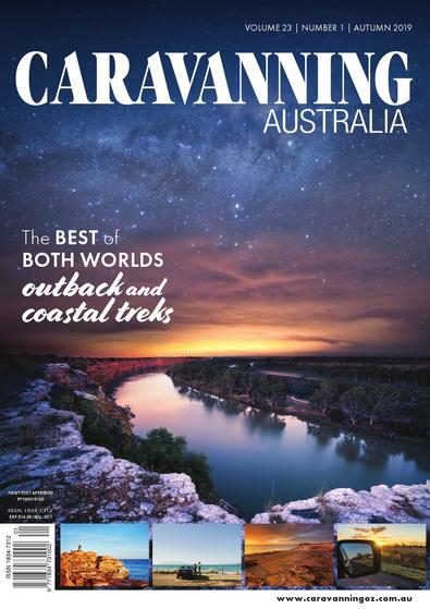 Caravanning Australia magazine cover