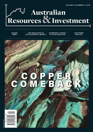 Australian Resources & Investment magazine cover