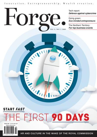 Forge magazine cover