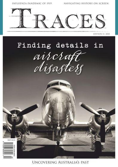 Traces magazine cover