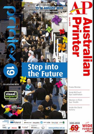 Australian Printer magazine cover