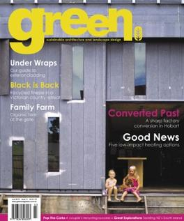 green Issue No 12 magazine cover