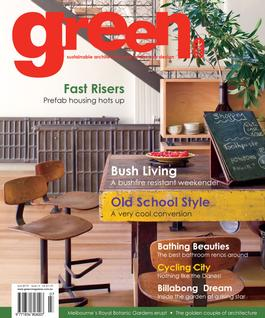 green Issue No. 14 magazine cover