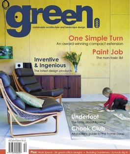 green Issue No. 11 magazine cover